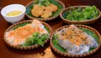"""BANH CUON CHA MUC"" DISH IN HA LONG BAY"